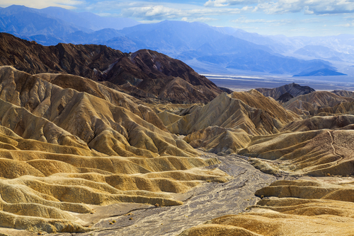 Zabriskie Point - Death Valley - USA
