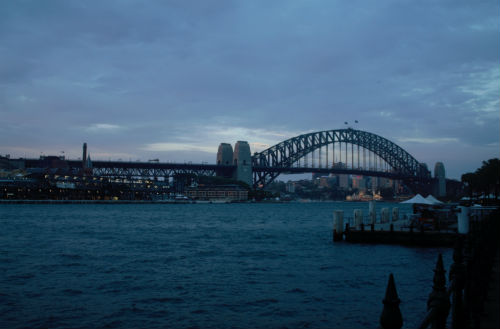Harbour Bridge-Sydney-Australia