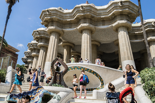 Parc Guell-Barcellona-Spagna