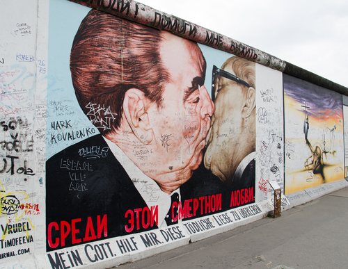 Graffiti-East Side Gallery-Berlino