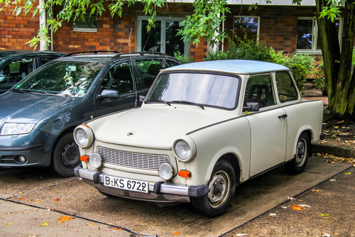 Trabant-macchina DDR-Germania