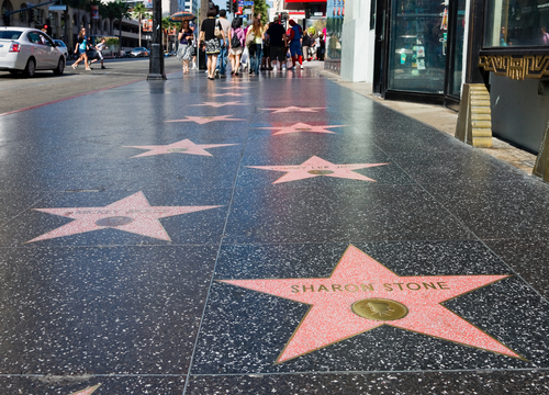 Walk of Fame-Hollywood-Los Angeles-California