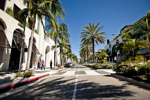 Rodeo Drive-Beverly Hills-Los Angeles-California