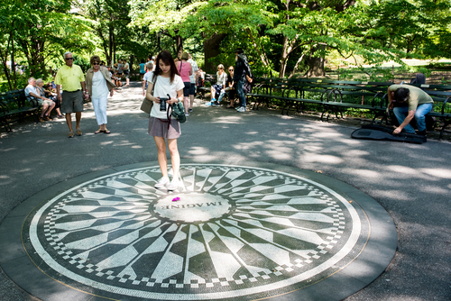 Strawberry fields-Central Park-New York